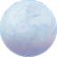 Icono de luna pálida